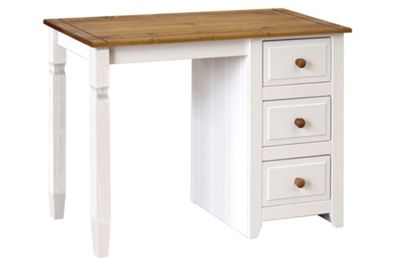 Home Essence Compton Single Pedestal Dressing Table