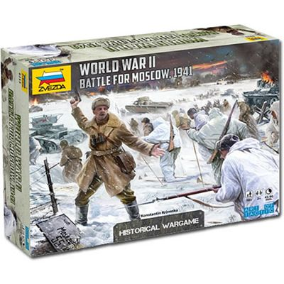 Zvezda 6215 Battle For Moscow 1941 Wargame Aot Wwii 1:72 Model Kit
