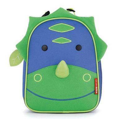 Skip Hop Zoo Lunchies Dinosaur Lunch Bag