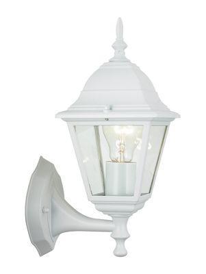 Brilliant Newport 1 Light Outdoor Wall Lantern - White