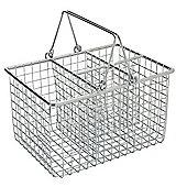 Apollo Chrome Cutlery Basket with Folding Handle
