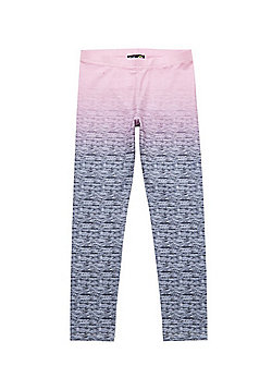 F&F Active Ombre Leggings - Grey
