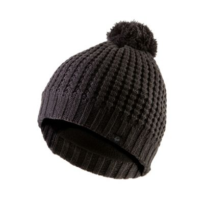 Sealskinz Waffle Knit Bobble Hat Grey S-M