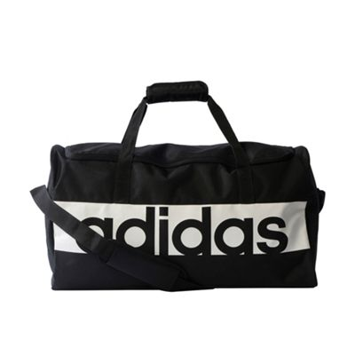 adidas Linear Performance Team Duffel Holdall Bag Medium Black