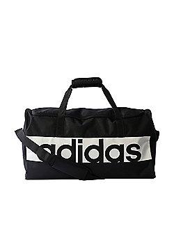adidas Linear Performance Team Duffel Holdall Bag Medium Black