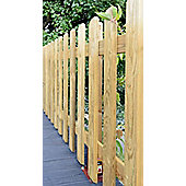 Elite Profiled Picket Fence- PACK OF 3