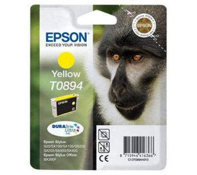 Epson T0894 Ink Cartridge For Stylus S20/SX100/SX105 - Yellow