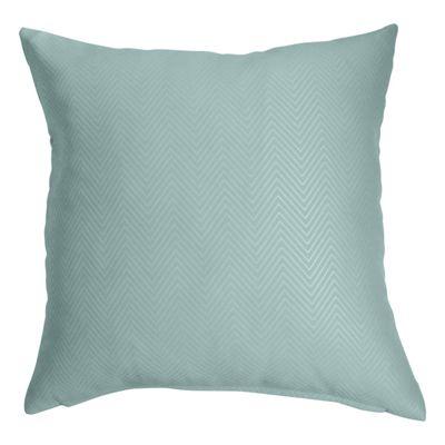 Homescapes Pastel Blue Herringbone Chevron Cushion Cover