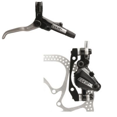 Avid Elixir 5 Black Rear Disc Brake w/ 160mm HS1 Rotor (IS and Post Mount)