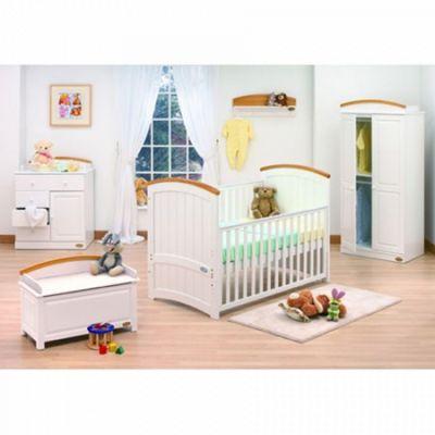 Tutti Bambini Barcelona 2 Piece Room Set - Beech/White