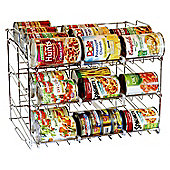 Taylor & Brown 3 Tier Stackable Can Rack Organizer, Storage for 36 cans