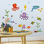Baby Wall Stickers, Nursery Wall Stickers, Kids Wall Stickers - Adventures Under the Sea