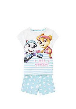 Nickleodeon Paw Patrol Star Print Pyjamas - Blue