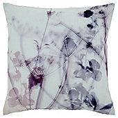 Floral Shadow Print Cushion