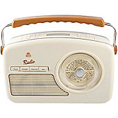 GPO Rydell Portable DAB Radio (Cream)