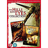 Hills Have Eyes Double Pack DVD