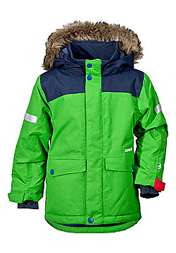 Didriksons Storlien Kids Parka - Kryptonite - Green