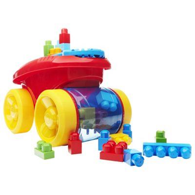 Mega Bloks Scooping Wagon (Red)