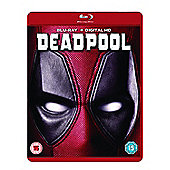 DEADPOOL Blu-ray + Digital HD UV