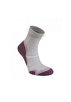 Bridgedale Ladies Wool Fusion Ultra Light Sock - Aubergine
