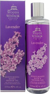 Woods of Windsor Lavender Bath & Shower Gel 250ml