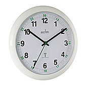 Acctim 93/723RC Economy Radio Controlled Wall Clock White