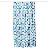 TESCO FISH SHOWER CURTAIN