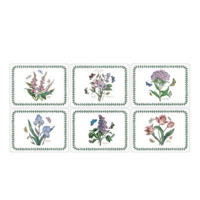Pimpernel Botanic Garden Placemats, Set of 6, New Designs