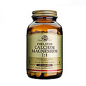 Solgar Chelated Calcium/Magnesium 1:1 tablets 120