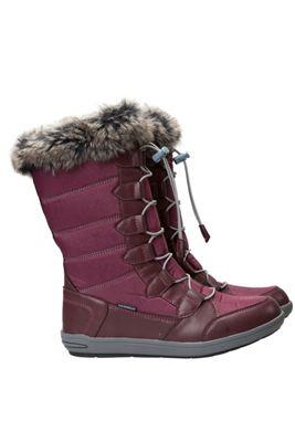 Firbank Womens Snowboots Burgundy-Adult 04