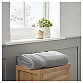 Fox & Ivy Egyptian Cotton Silver Bath Towel