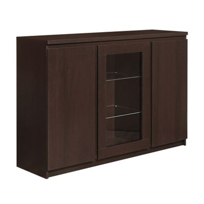 Pello 3 Door Sideboard (Glazed Centre)