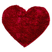 Home Essence Splendour Kiddy Cupid Bright Pink Shag Rug - 75cm x 75cm (2 ft 5.5 in x 2 ft 5.5 in)