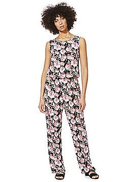 JDY Sleeveless Floral Jumpsuit - Multi
