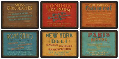 Buy Pimpernel Lunchtime Placemats Set of 6 from our Placemats ...