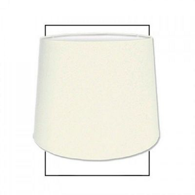 Modern Style Faux Silk 15 inch Drum Lamp Shade Dual Fitting