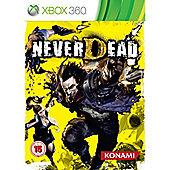 NeverDead Game Xbox 360