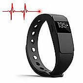 IQ Fitness Tracker with Heart Rate Monitor + Activity App for iOS and Android - compatible with Apple Health & Google Fit