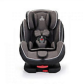 Ickle Bubba Solar Group 1-2-3 Isofix and Recline Car Seat plus Extra Accessory Pack - Dark Grey