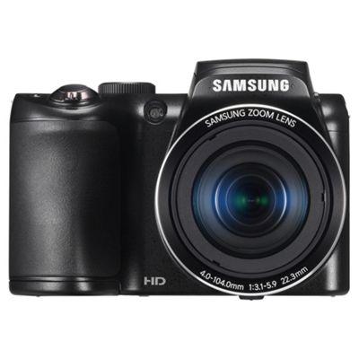 Samsung WB101 Black Bridge Camera with Case and 4Gb SD card