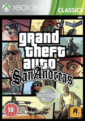 GTA San Andreas Xbox 360