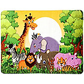 Jungle Friends Lightweight Mat - 117 x 76 cm