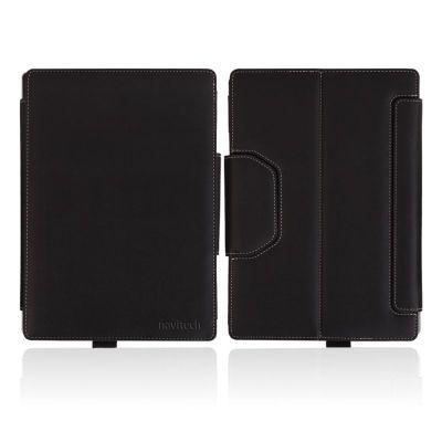 Navitech Microsoft Surface 3 10.8 Black Faux Leather Case