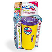 Wow Cup Spill Free Drinking Cup *YELLOW*