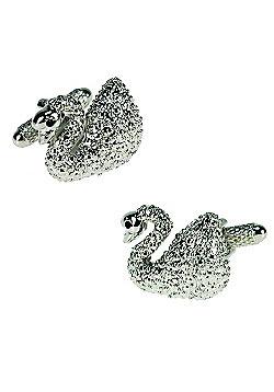 Swan Novelty Themed Cufflinks