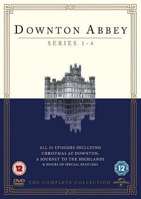 Downton Abbey Series 1-4 (DVD Boxset)