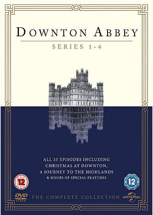 Downton Abbey Series 1-4 (DVD Boxset)