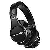 Bluedio U UFO Wireless Bluetooth Headphones - Black