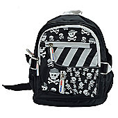 Kiddimoto Small Childs Backpack Skullz with padded shoulder straps