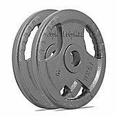 Bodymax Olympic Cast Iron Weight Plates - 2 x 15kg